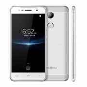 HOMTOM HT37 PRO 5.0 Inches 4G Phone with 3GB RAM? 32GB ROM - Silver (EU Plug)