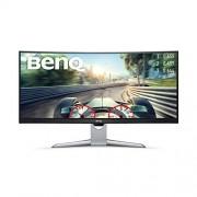 BenQ 9H.lgjla.TSE ex3501r 88,90 cm (35 inch) VA LED display monitor Zwart/zilver