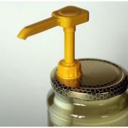 BestOn Mézpumpa fém tetővel 8,5 cm-es üvegre