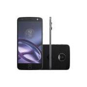 Smartphone Motorola Moto Z Style Dual Chip Android 6.0.1 Tela 5.5 64GB 4G Câmera 13MP - Preto