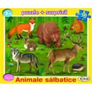 Puzzle - Animale salbatice (30 piese)/***