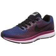 Nike Men's Air Zoom Pegasus 34 Blue Running Shoes - 7.5 UK/India (42 EU)(8.5 US)(880555-006)