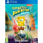 PS4 Spongebob SquarePants Battle for Bikini Bottom - Rehydrated - Shiny Edition
