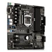 Дънна платка ASRock Z370M Pro4, LGA1151, DDR4, PCI-E(HDMI&DVI&VGA)(CFX), 6x SATA 6Gb/s, 2x M.2 U.2 socket, 4x USB 3.1Gen1, 1x USB 2.0, mATX