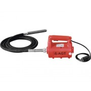 Vibrator pentru beton AGT FX 2000W cu lance 30mm/3m