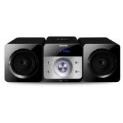 CD-s FM PLL rádió LED kijelzővel, USB, MP3 lejátszás, line-in, távirányító, MS6BK
