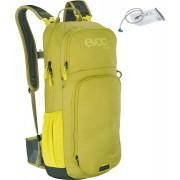 Evoc CC 16L Mochila + bexiga de hidratação 2L Verde Amarelo único tamanho