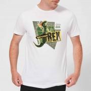 Toy Story Partysaurus Rex T-shirt - Wit - S - Wit