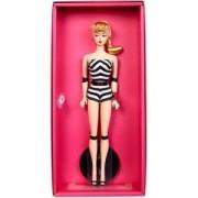Кукла Barbie - Колекционерска кукла с черно-бял бански, 75-та годишнина, 1710180