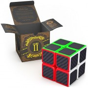 The Cuby 2: Best 2x2 Speed Cube - The All-Time Favorite Brain Teaser in a 2x2x2 Puzzle Cube - Ideal for Cube Puzzles Beginners Who Aim to Be 2by2 Speed Cube Champs - Tiny Cube 2x2