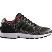 Pantofi sport Adidas Originals ZX Flux Snakeskin negru/gri 38 2/3