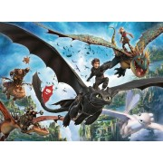 Puzzle Ravensburger - Dragon, 100 piese XXL (10955)