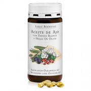 Cebanatural Aceite de Ajo-Espino Blanco-Hojas de Olivo - 300 Cápsulas