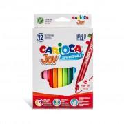 Carioca Joy - super lavabila, varf subtire Set 12 culori diferite
