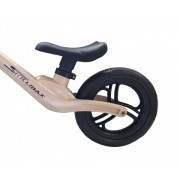 Bicicleta fara pedale 12 inch aurie inaltime reglabila si roti Eva