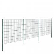 [pro.tec]® 2D panelna ograda (tamno zelena, 6 x 2,10 m)