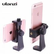 Ulanzi Universele Gedraaid Statief Houder Stand Beugel Clip Mount voor iPhone Samsung Meizu Xiaomi Huawei smartphone 3 kleuren