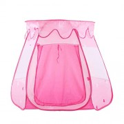 GoodLuck Baybee Children Play Fairy Vase Tent House Toys Pop Up Indoor/Outdoor Ball Pit Baby Beach Tent Playhouse with Zipper Storage Case Kids for Boys & Girls (Pink)