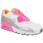 Nike Air Max 90 Gs Grey,Pink,White