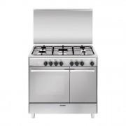 GLEM GAS Glem UR965MI Cucina 90cm 4 Fuochi piu' Tripla, Forno Elettrico Multifunzione, A, Unica