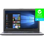 "Laptop ASUS VivoBook 15 X542UA (Procesor Intel® Core™ i3-7100U (3M Cache, up to 2.40 GHz), Kaby Lake, 15.6""FHD, 4GB, 500GB HDD @5400RPM, Intel® HD Graphics 620, FPR, Win10 Pro, Gri) + Bonus Intel Core i3 Software Pack ASUS"