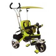 Gyerek háromkerekű bicikli Baby Mix zöld