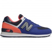 Tenis New Balance 574 Pebbled Sport Hombre-Ancho