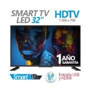 TELEVISION LED GHIA 32PULG. SMART TV G32DHDS7 HD 720P 2 HDMI / 3 USB / VGA/PC 60HZ