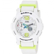Casio Baby-G Analog-Digital White Dial Womens Watch - BGA-180-7B2DR (BX027)