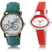 The Shopoholic White Combo Latest Collection Fancy And Attractive White Dial Analog Watch For Girls Watches For Stylish Women