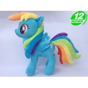 My little Pony Big Eyes Soft Stuffed Animal Doll Unicorn Horse Plush Toys Princess Cadance