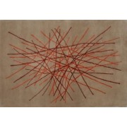 Vlněný koberec DESIGN Stripes d-18, 140x200 cm