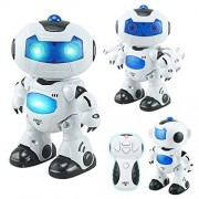 Instabuyz Dancing Robot with LED Light, Music, Song and Programming Dance
