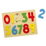 Viga drvene puzzle 10 kom brojevi