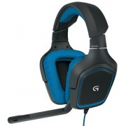 HEADPHONES, LOGITECH G430 Surround, Gaming, Microphone (981-000537)