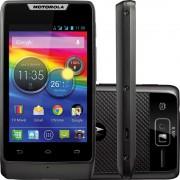 SMARTPHONE MOTOROLA 2 CHIPS c/ TV ANDROID 4.0 Câmera 5MP 3G Wi-Fi