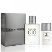 Giorgio Armani - Acqua di Gio edt 100ml + deo stick 75ml (férfi parfüm szett)