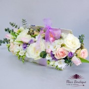 "Carte cu Flori ""Soft Colours"""