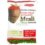Musli Cereale cu Ciocolata si Capsuni 300gr Rommac Trade