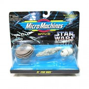 Star Wars Micro Machines Set XI with Bespin Cloud City, Mon Calamari Rebel Cruiser, and Escape Pod
