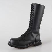 bőr csizma - BRANDIT - 9004-black