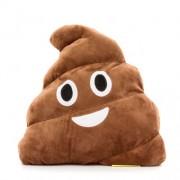 Happy Face: Nevető Kaki Emoji párna