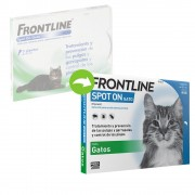 Frontline® Spot-On para gatos - 3 pipetas
