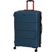IT luggage Expressway Polycarbonate Hardsided Large Size Suitcase | 8 Wheel Trolley | 16-2337-08 | Expandable Check-in Luggage - 31 inch(Blue)