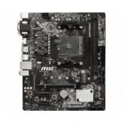 MSI MICROSTAR MB MSI B450M PRO-M2 MAX AM4 RYZEN9 2D4 4S3 M.2 GBLAN 6U3 PCIE D/H/V
