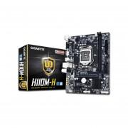 T. Madre Gigabyte GA-H110M-H, ChipSet Intel H110, Soporta, Intel Core I7/Core I5/Core I3/Pentium/Celeron De Socket 1151, Memoria, DDR4 2133 MHz, 32GB Max, SATA 3.0, USB 3.0, Integrado, Audio HD, Red Gigabit, Micro-ATX.