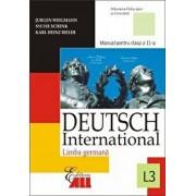Deutsch international 1. Manual (anul I de studiu, limba a treia) Clasa a IX-a