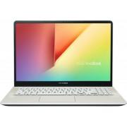 "Ultrabook Asus VivoBook S15 S530UF-BQ116 (Procesor Intel® Core™ i5-8250U (6M Cache, up to 3.40 GHz), 15.6"" FHD, 8GB, 256GB SSD, nVidia GeForce MX130 @2GB, Auriu)"