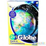 Világító Földgömb 2 Az 1-Ben (Reflexshop, E2001)