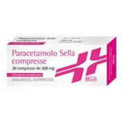 Sella Srl Paracetamolo Sella*30cpr 500mg